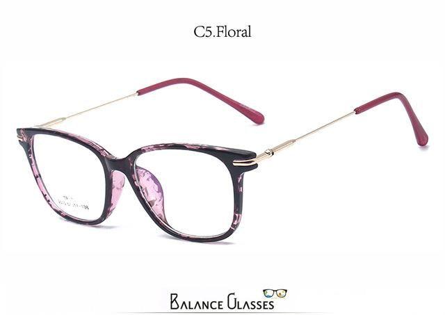 b0e3005a94ccc Retro square eyeglasses frames for women Nerd Glasses optical Metal eye  glasses TR90 Eyewear oculos de grau ...