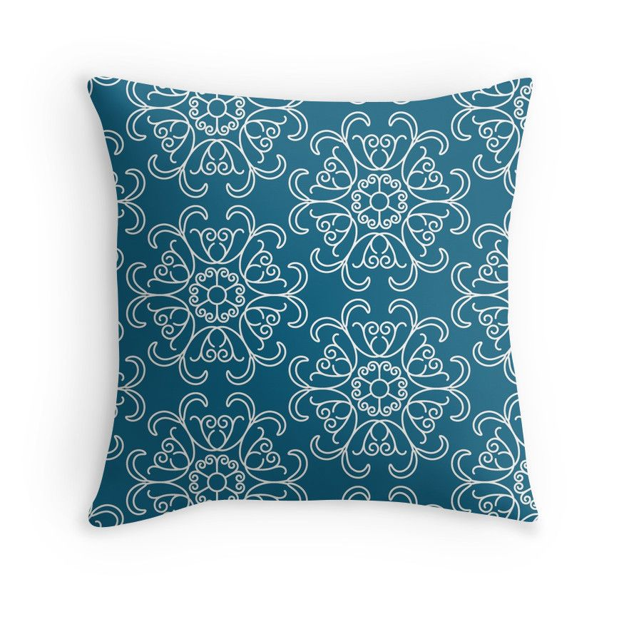 """""""Floral seamless pattern"""" Throw Pillows by Stock Image Folio 
