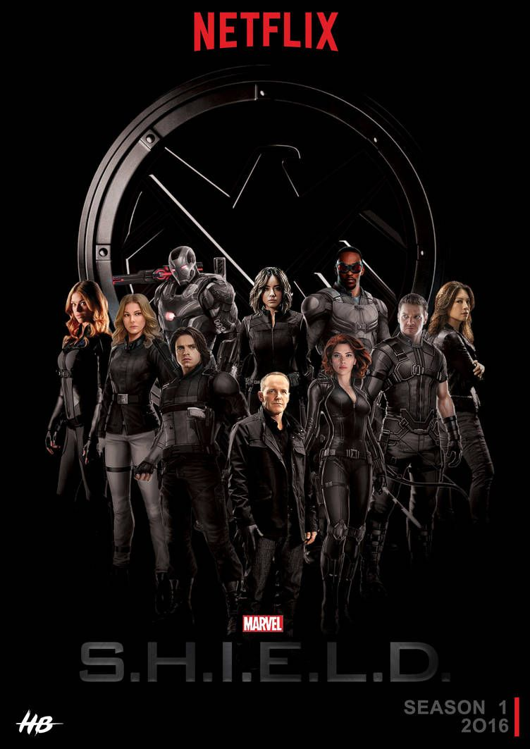 Shield Netflix By Hemison Agents Of Shield Marvel Shield Marvel Agents Of Shield
