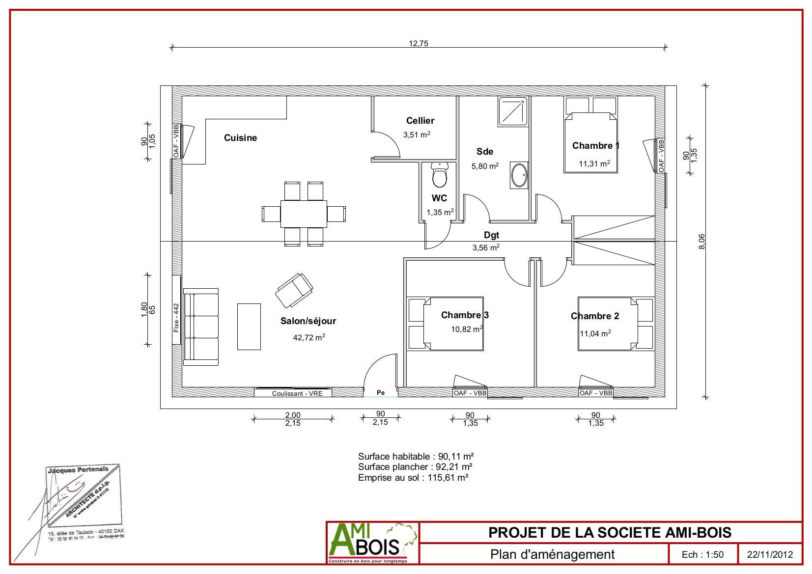 Produit exceptionnel a vendre gaillac 81 proche centre for Prix maison neuve plain pied 90m2
