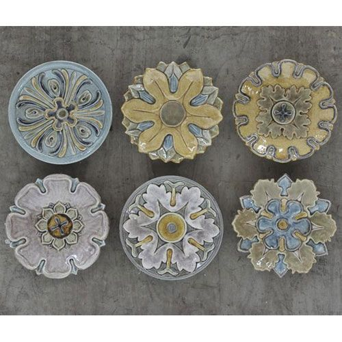 Round Terracotta Wall Plate Plates On