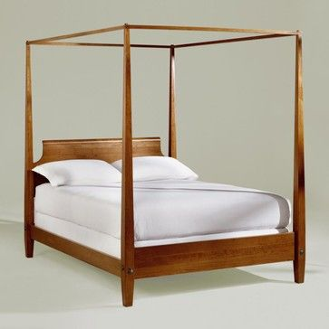 Ethan Allen New Impressions Cherry Queen Canopy Bed 1689