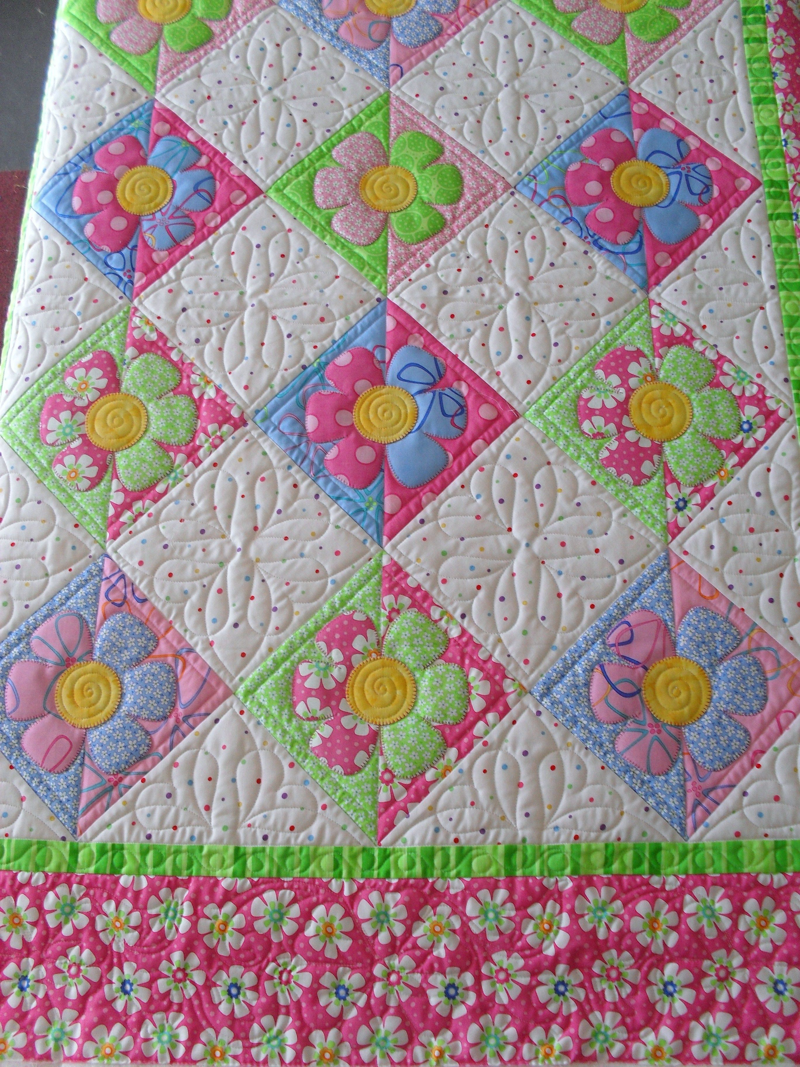 Posy Quilts Flowers Quilts Baby Quilts Flower Quilts