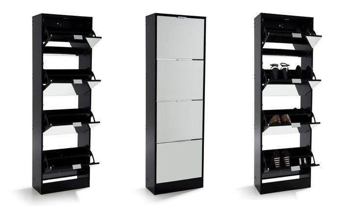 Meuble Chaussures Avec Ou Sans Miroir Modele Au Choix Des 59 99 Livraison Offerte Jusqu A 57 De Reduction Locker Storage Storage Sweet Home