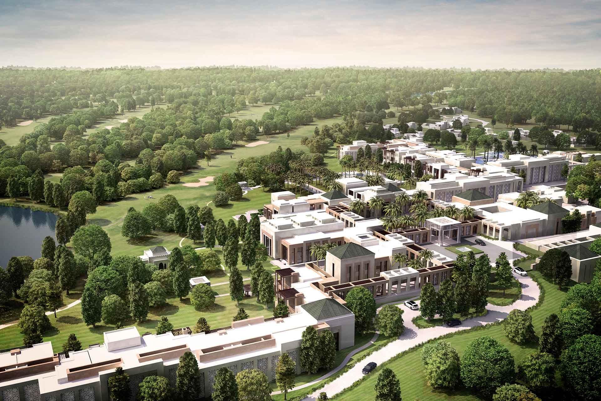 The Ritz-Carlton Rabat Dar Es Salam aerial view   Hotels