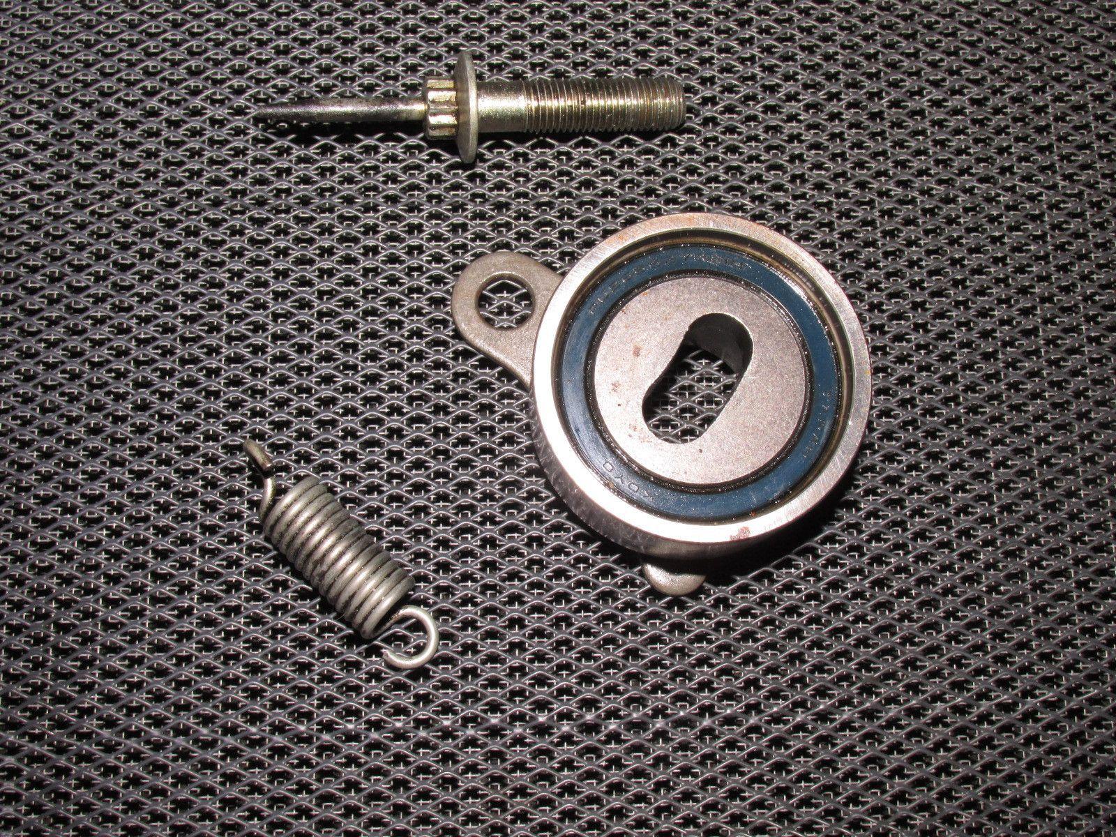 medium resolution of 85 86 87 88 89 toyota mr2 oem 4age engine timing belt tension pulley