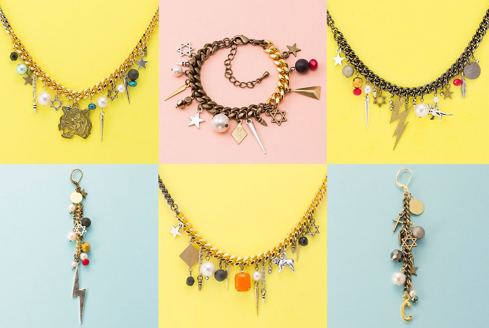 """""""CLOCH"""" handmade jewelry   """"If you can't find what you want, just make it!!"""" by Mye  http://www.cloch.jp"""