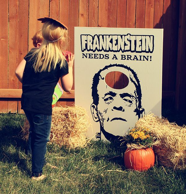 frankensteins lab pictures | Backyard Halloween Game Ideas ...