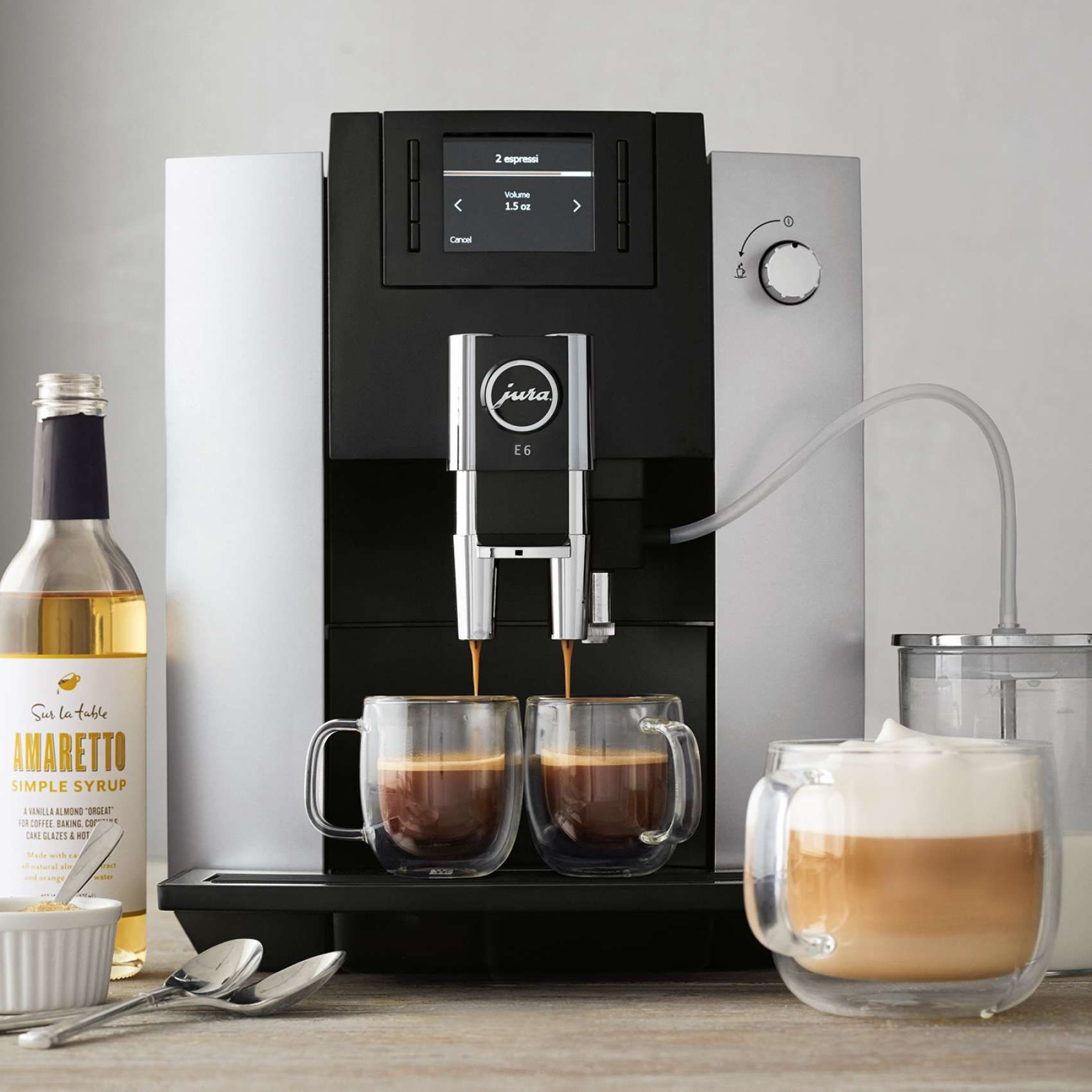 JURA E6 Automatic Coffee Machine Sur La Table in 2020
