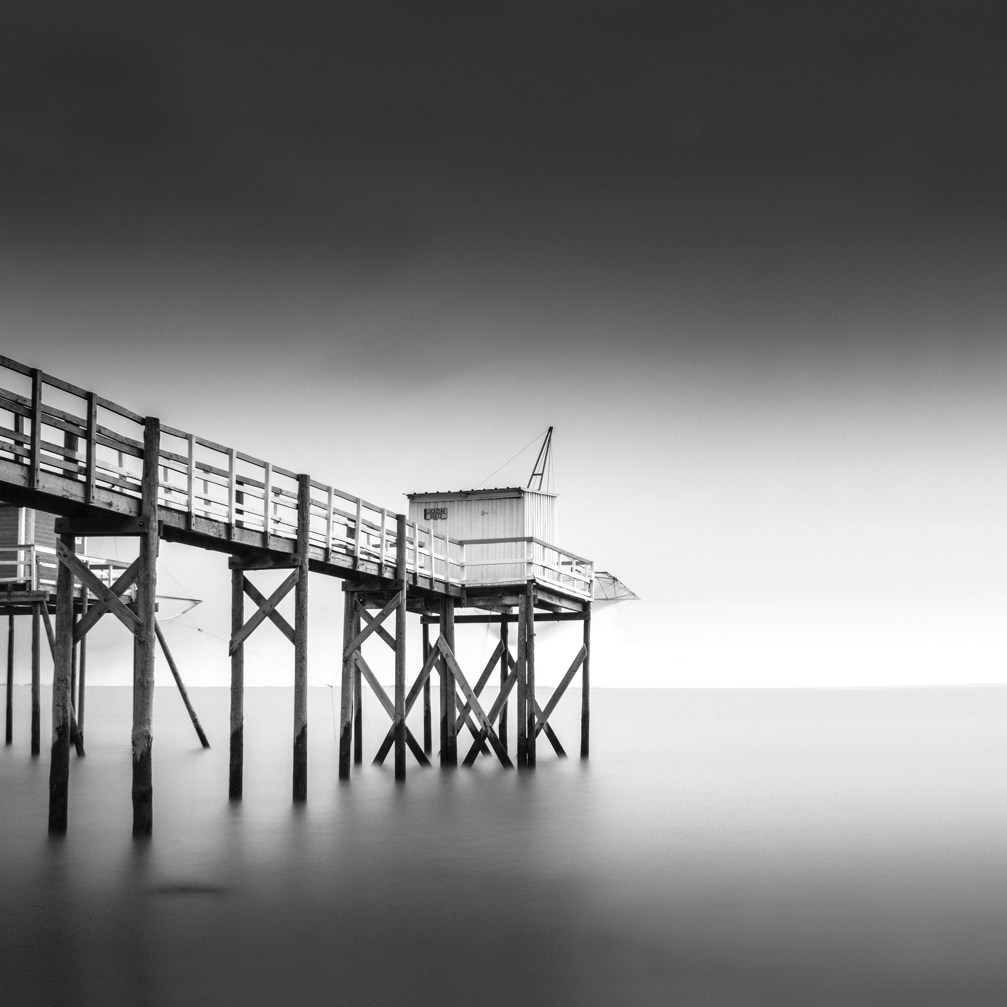 Fishing pier long exposure