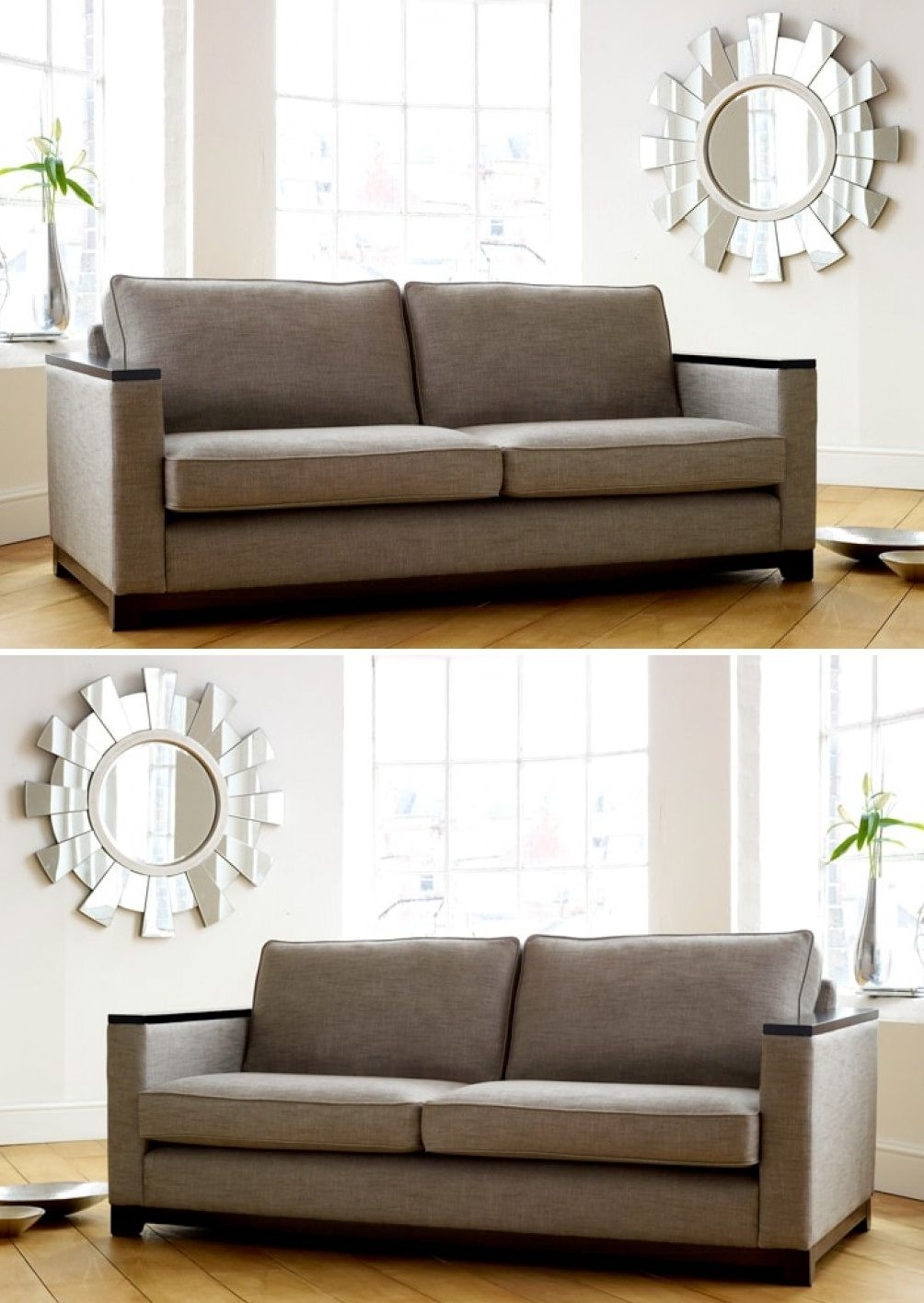 Fabric Sofa With Wood Trim 2019 Couch Design Latest Sofa