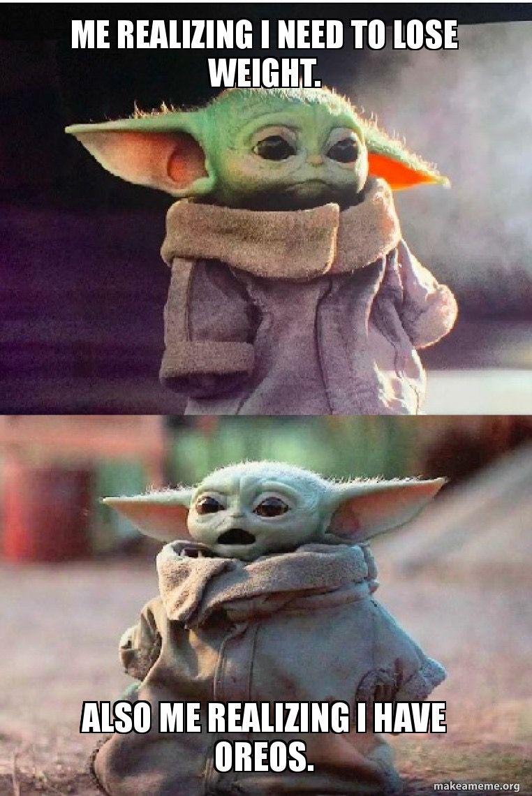Pin By Elery Date On Lauren And Lauren In 2020 Yoda Funny Funny Star Wars Memes Yoda Meme