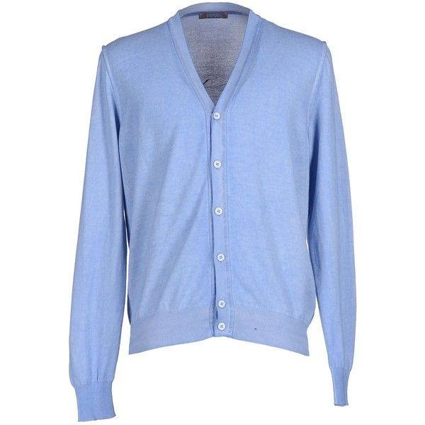 Andrea Fenzi Cardigan ($40) ❤ liked on Polyvore featuring men's ...