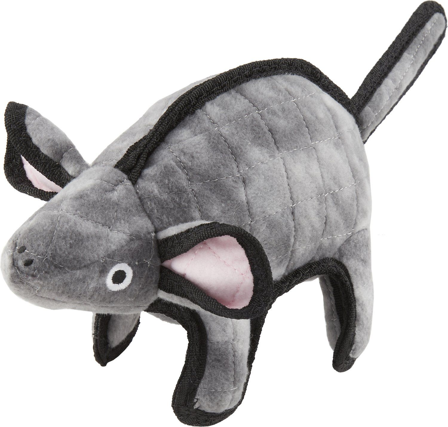 Tuffy S Gray Mouse Mo Dog Toy Chewy Com Dog Toys Dogs Tuff Toy