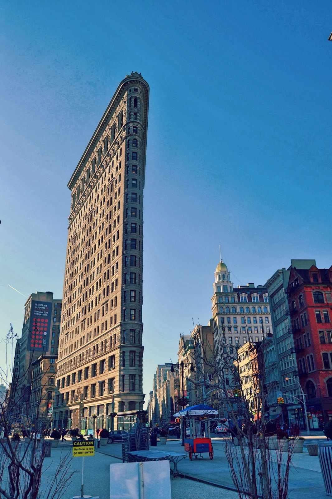 Honeymoon in New York #NYC #honeymoon #flatiron