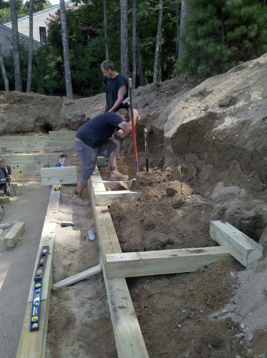 Pin by shane dill on .1 garden | Railroad tie retaining