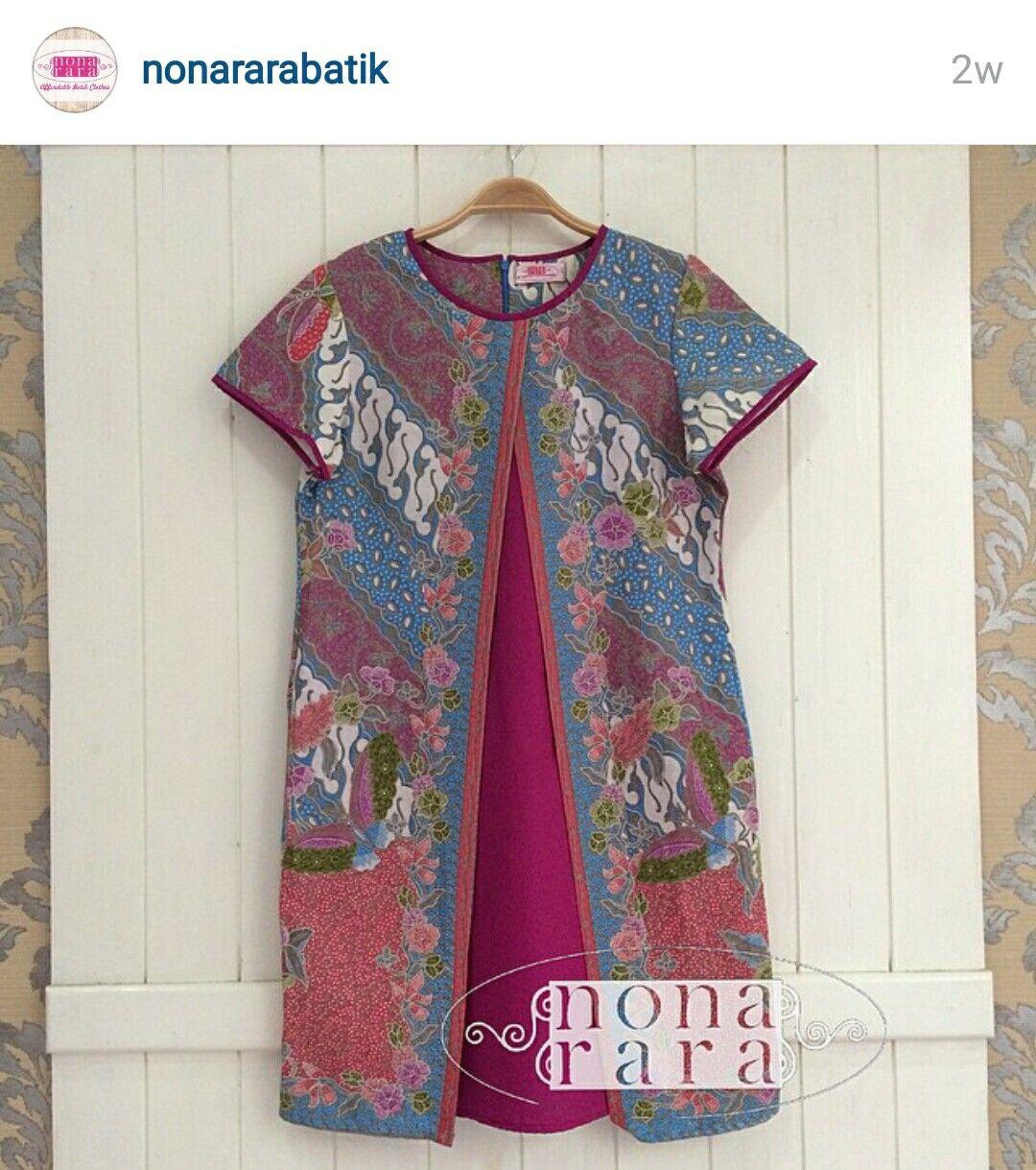 Batik Tulis Dress: Dress, Top, Blouse Batik Indonesia