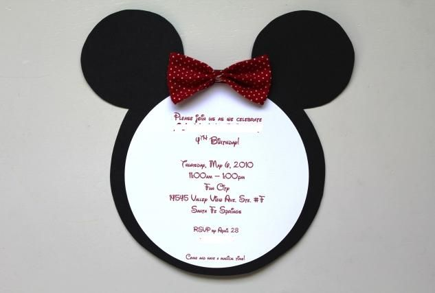 17 Best images about Mickey Mouse Baby Shower Invitations on ...