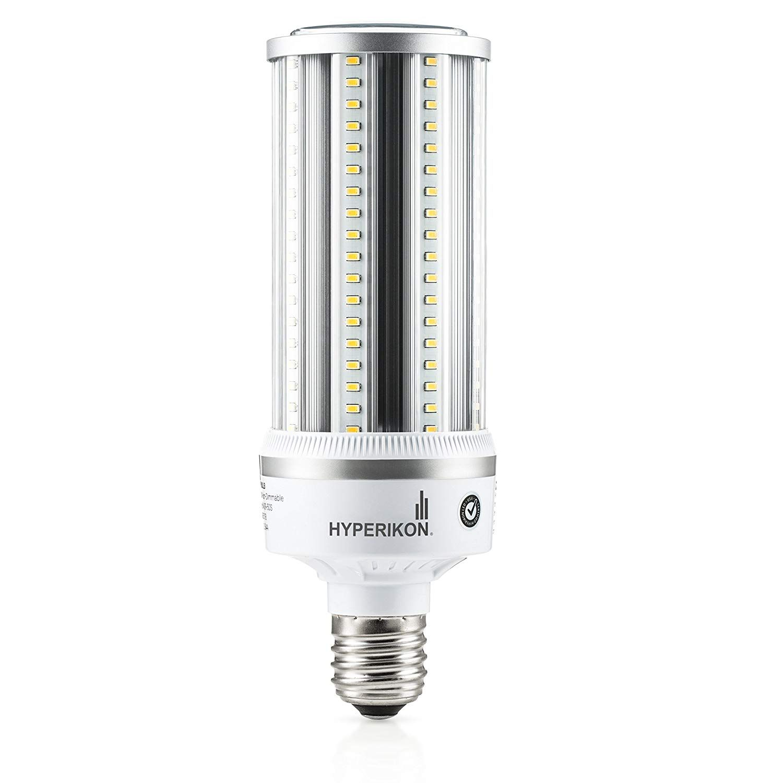 Hyperikon Led Corn Bulb Street Light 54w Hip Hid Replacement 6800 Lumen Large Mogul E39 Base 5000k Outdoor Indoor Area Ligh Area Lighting Street Light Bulb