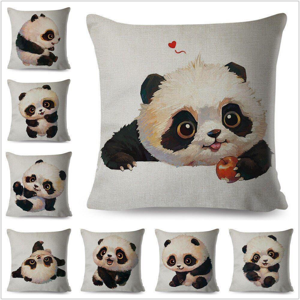 kids nursery bedroom Panda cute CUSHION COVER  45x45 CM
