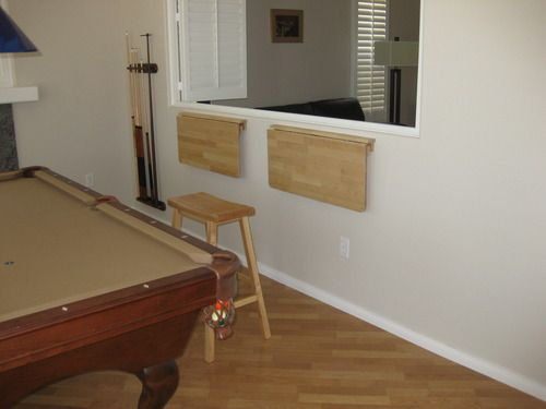 For Camper Wall Mounted Table Could Mount To Back Of