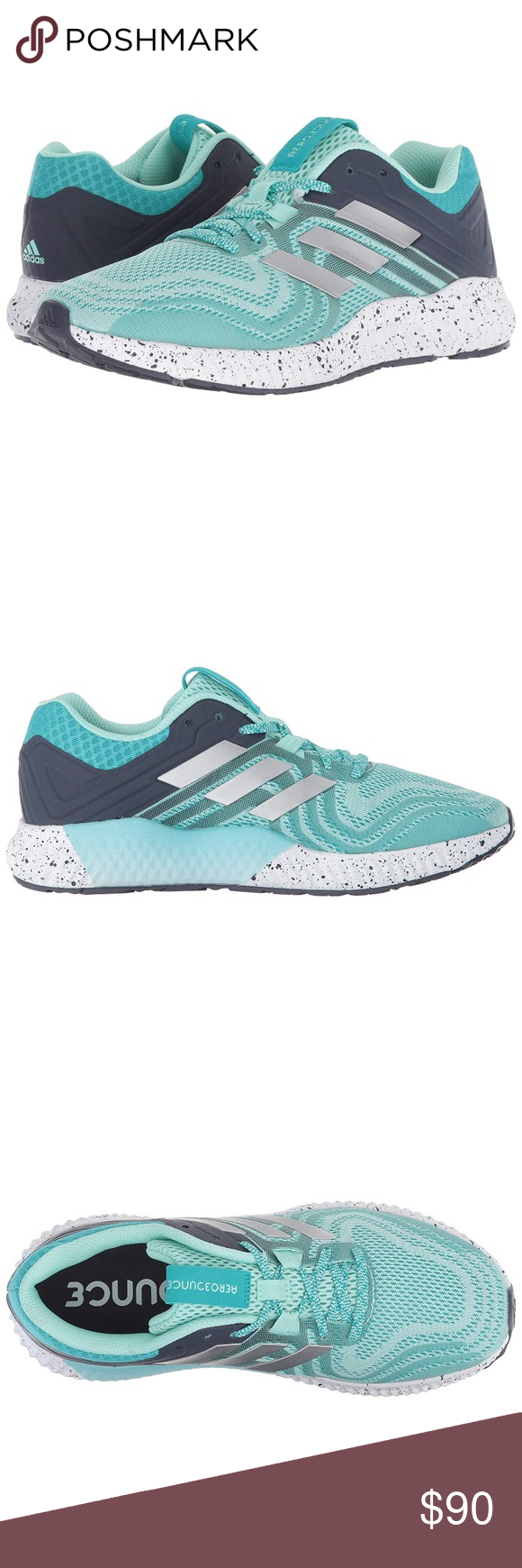62df15407d7d99 ADIDAS AEROBOUNCE ST 2 women 8.5 women s running shoes. They balance  comfort and stability in