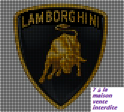 grille gratuite lamborghini perler beads logo et marque pinterest grille le blog et gratuit. Black Bedroom Furniture Sets. Home Design Ideas