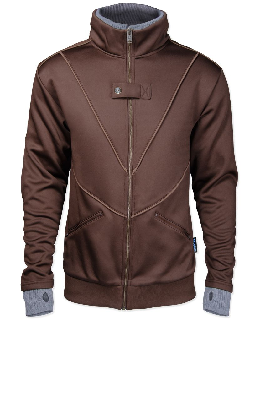 Leather jacket for dogs - Watch Dogs Aiden Pearce Vest Ubi Workshop
