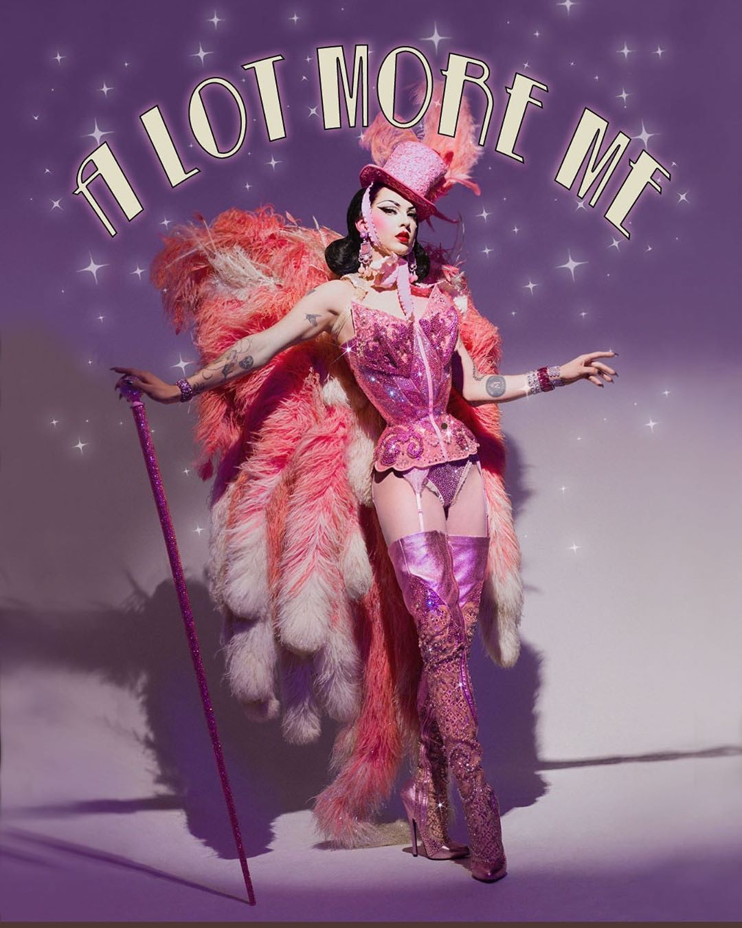 """Violet Chachki on Instagram: """"A LOT MORE ME- my first ever solo show debuts next month! Part drag show, part burlesque show, part circus show, par… in 2020 - Violet chachki - 웹"""