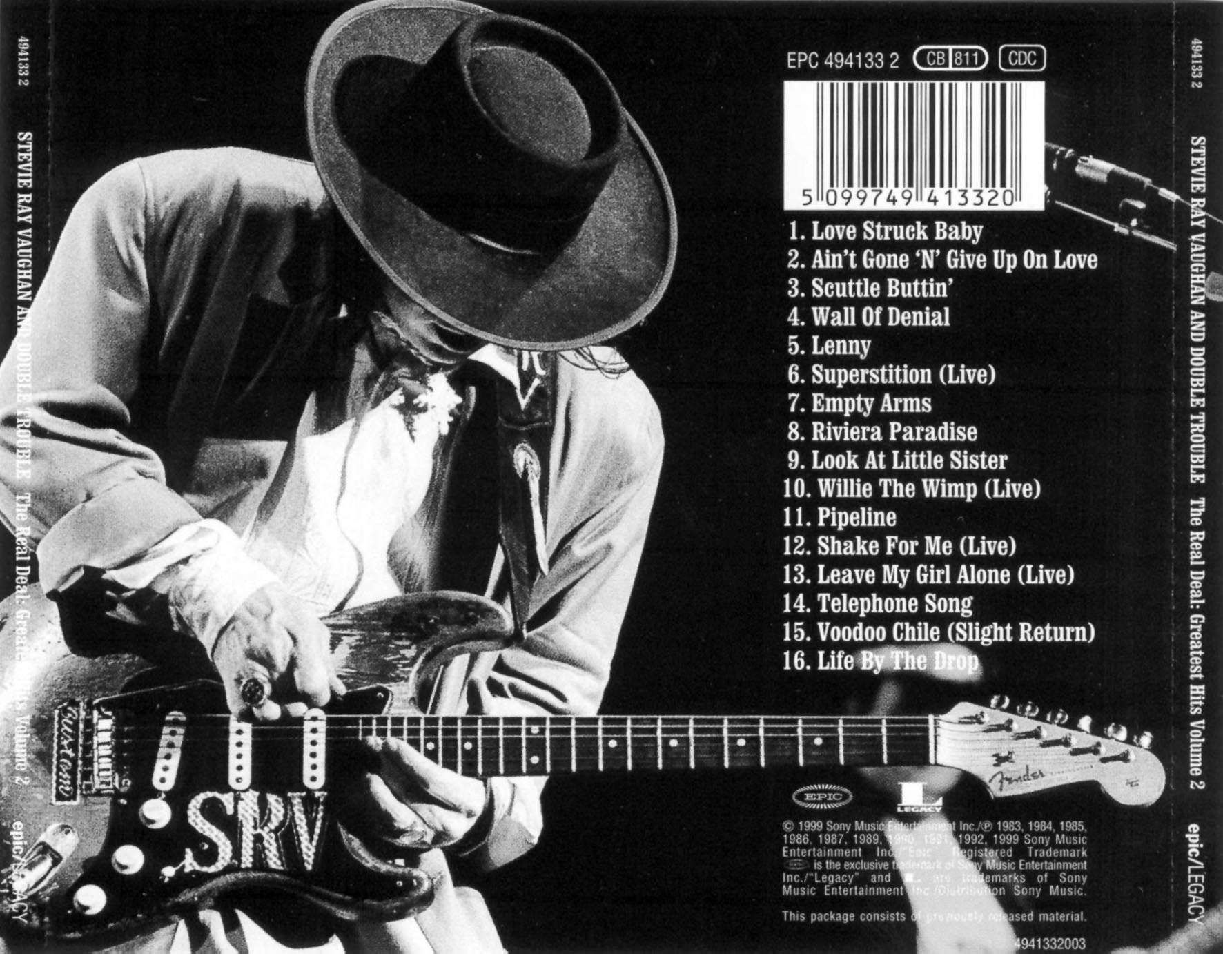 stevie ray vaughan | Stevie_Ray_Vaughan-The_Real_Deal-Trasera.jpg