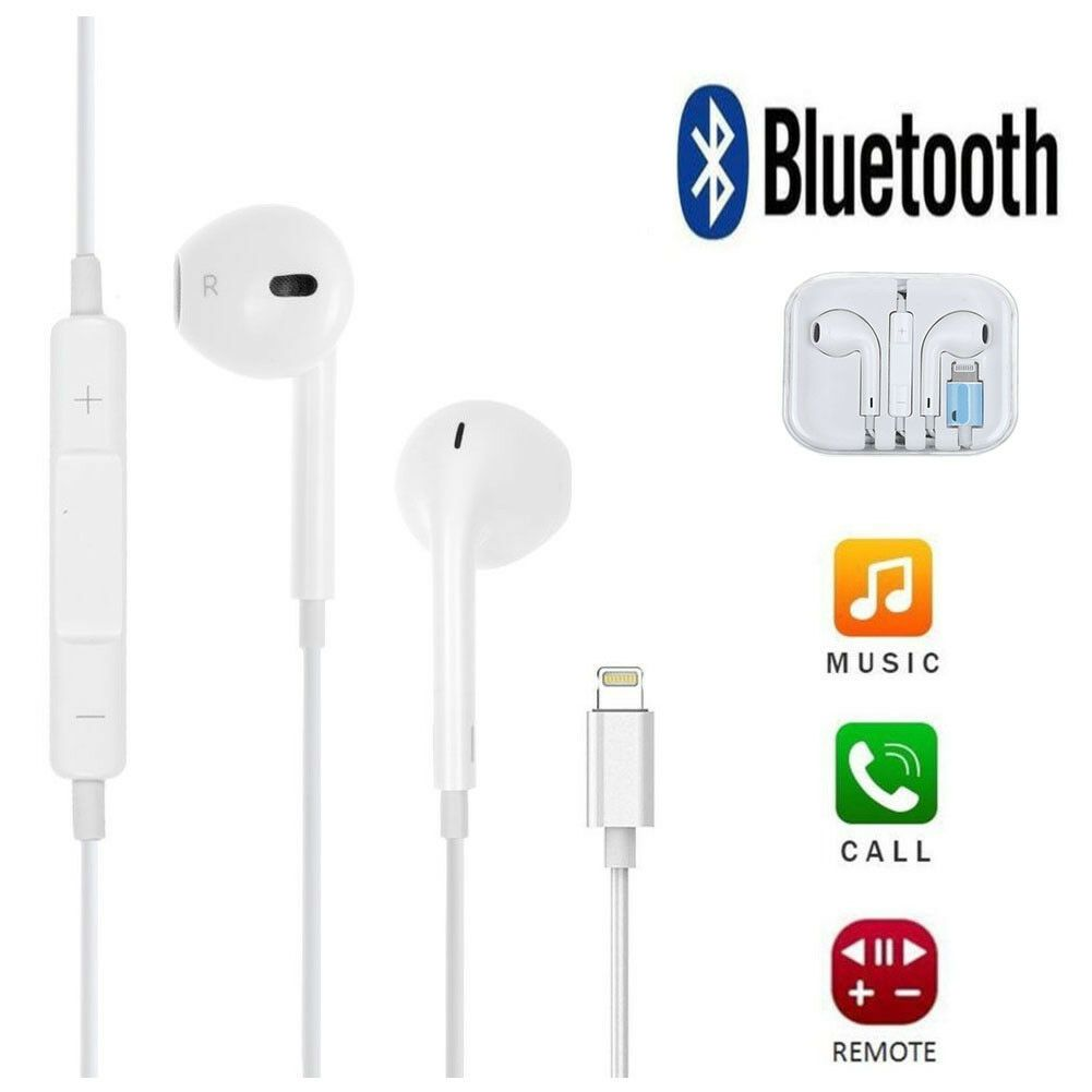 For Iphone Xs Max Xr X 8 7 Plus Bluetooth Earphones Stereo Headphones Headset Us Price 8 59 Under 20 Stereo Headphones Iphone Headphones Headphones