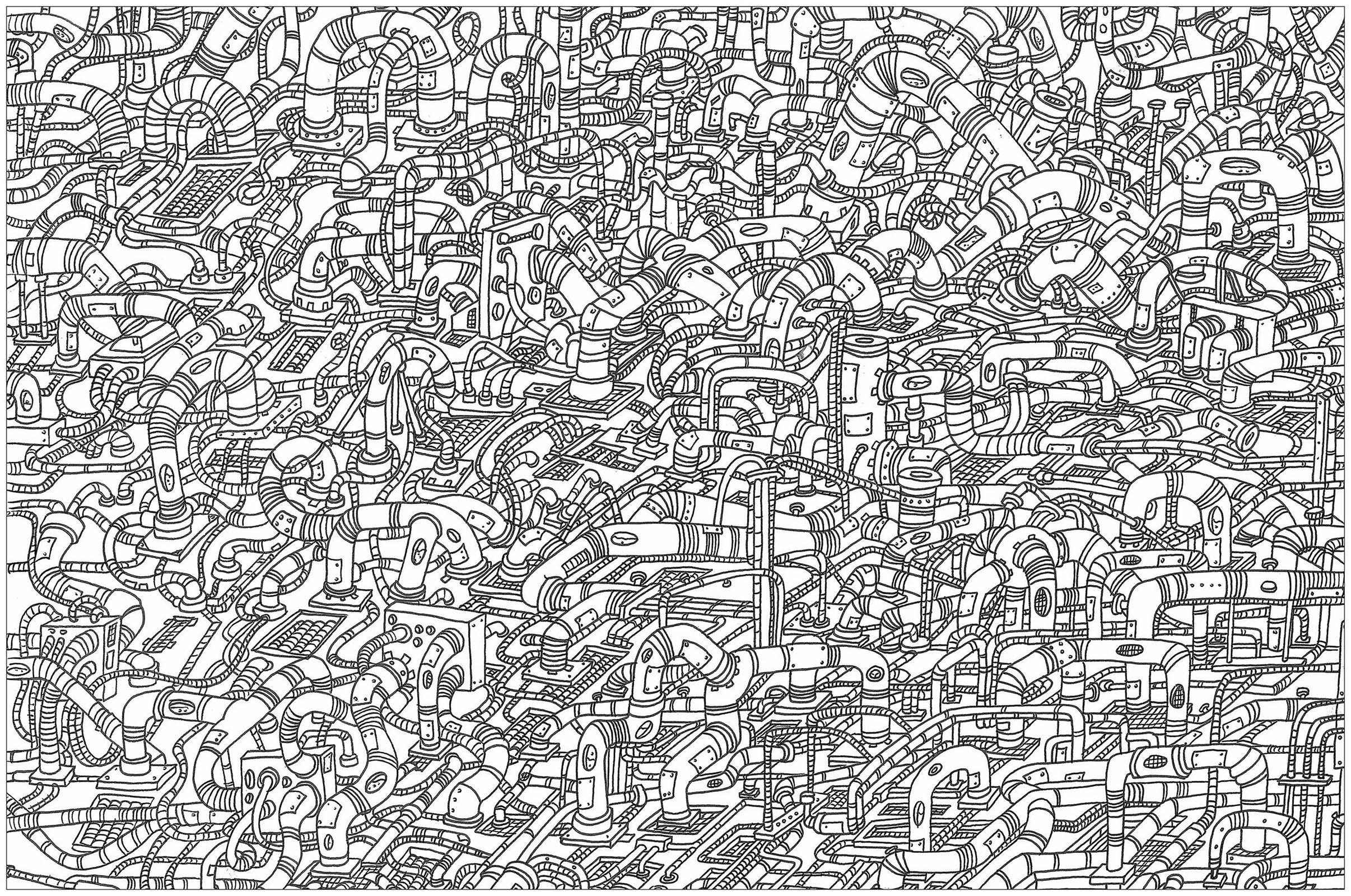 wheres waldo coloring pages - photo#17
