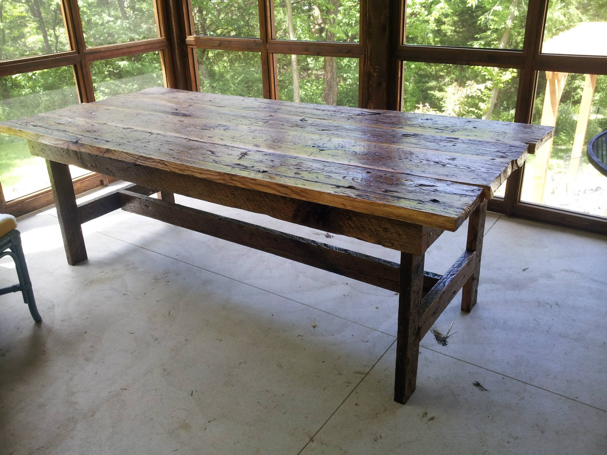 Rustic Kitchen Table  Things I Make & Sell  Pinterest  Rustic Extraordinary Rustic Kitchen Tables Inspiration Design
