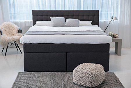 Betten Jumbo King Boxspringbett 180x200 cm mit Luxus 7
