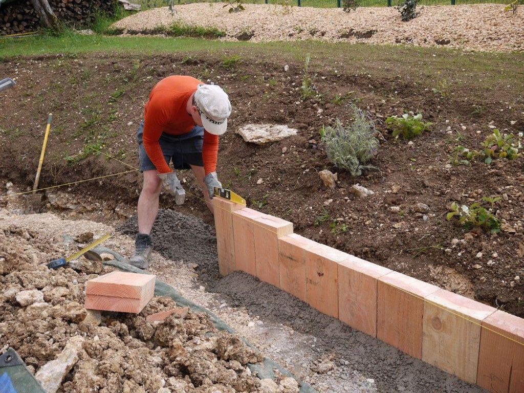 Planter Dans Un Talus bordure bois du talus, nouveau jardin et création d'une