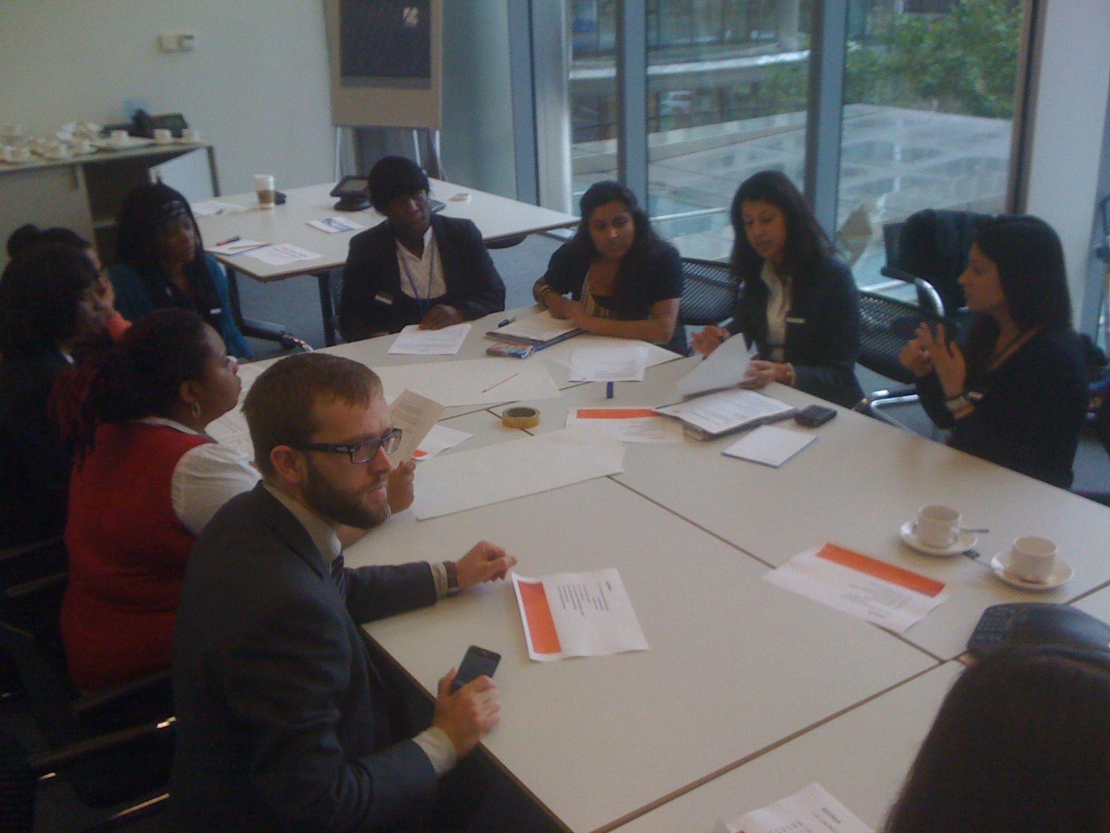 Job Preparation Training at Barclays Wealth, Canary Wharf