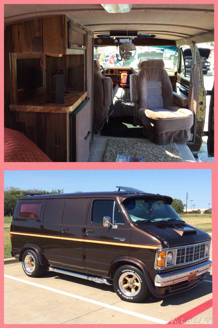 Custom dodge boogie van vans pinterest furgoneta
