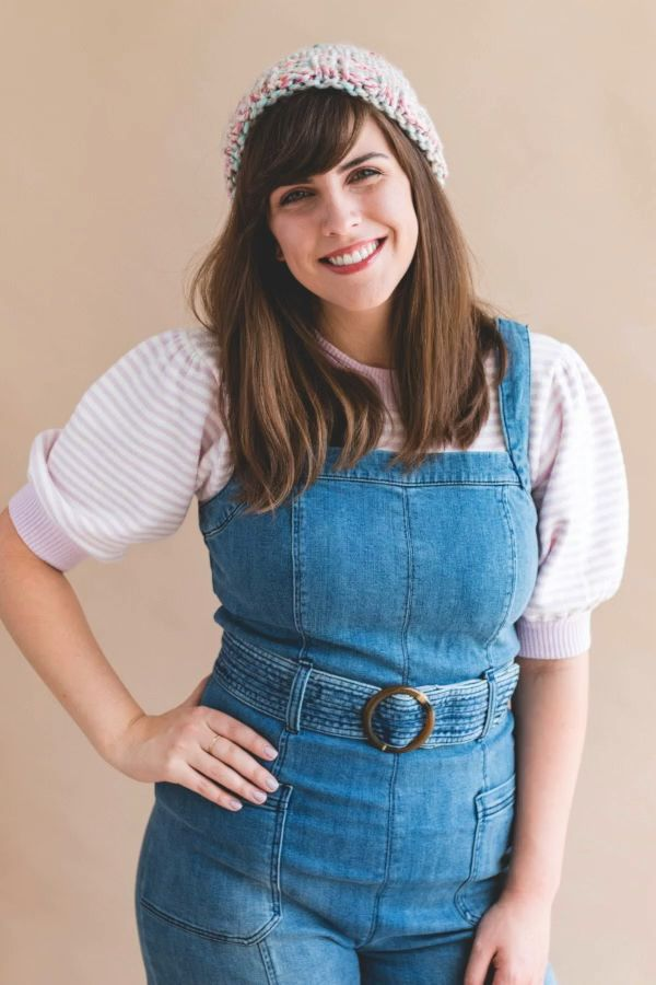 Photo of Knit Thick & Quick Gwen Hat • Sewrella