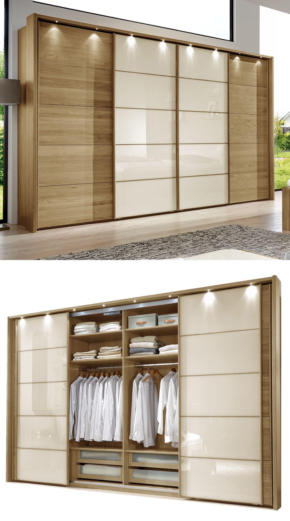 Beautiful The best Kleiderschrank eiche ideas on Pinterest Garderobe eiche Eiche Regale and Offener schrank