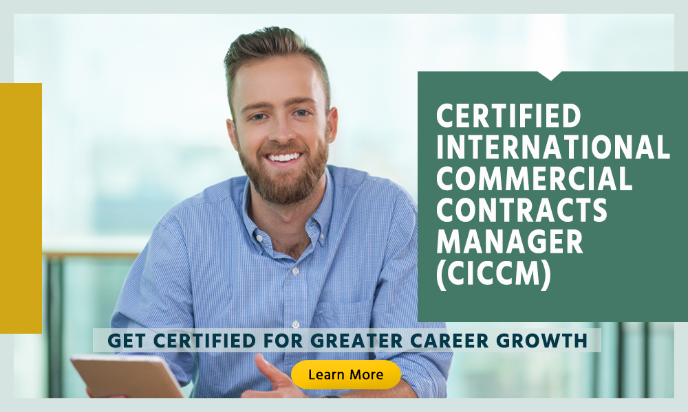 Become A Certified International Commercial Contracts Manager