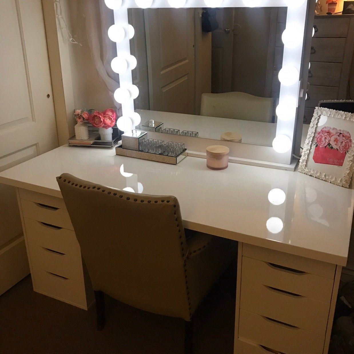 Low Shipping Financing Hollywood Vanity Mirror Etsy With Lights