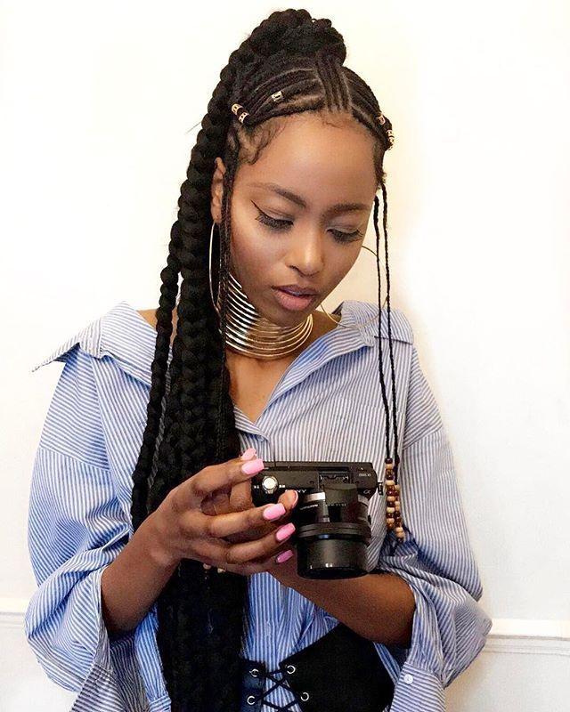 Fckyeahprettyafricans Afridiaspora Ig Zinziayanda Ndebele Woman South Africa South Africa Beautiful Black Hair Braided Hairstyles Natural Hair Styles
