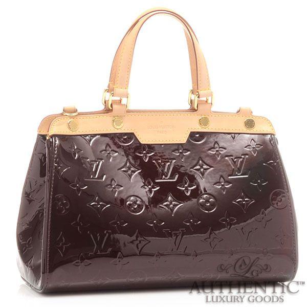 2c5961408 Louis Vuitton LV Monogram Vernis Amarante Shoulder Patent Leather Handbag  Brea   eBay $1,450