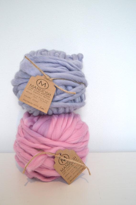 Manuosh Massive Cloud Super Chunky Merino Wool Yarn 30 Yards