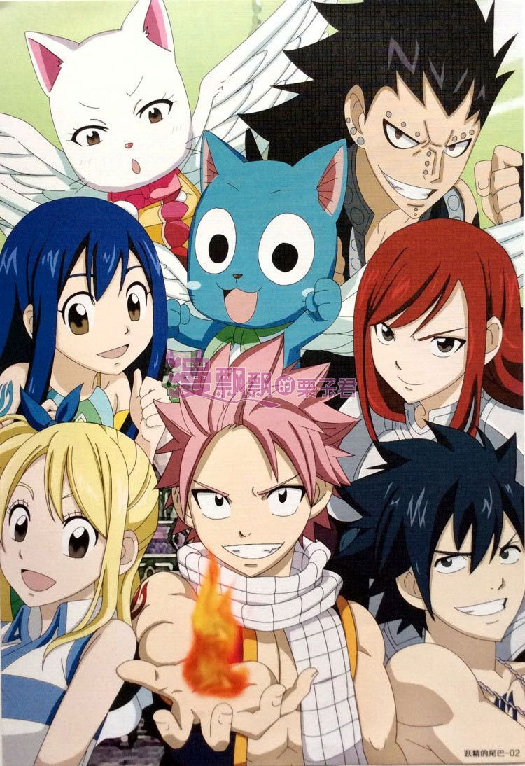 f4d54260ba14 Fairy Tail Posters - A3 Different Designs