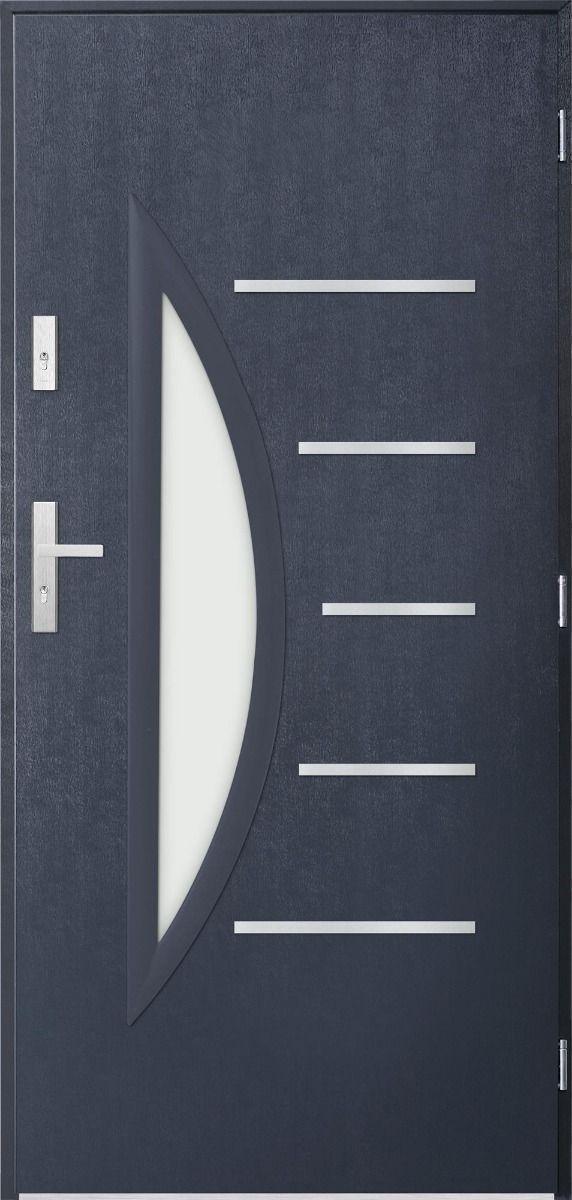 Sta Centaurus – Simply stainless steel front doors