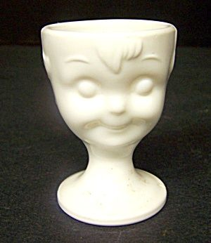 Milk Glass Egg Cup