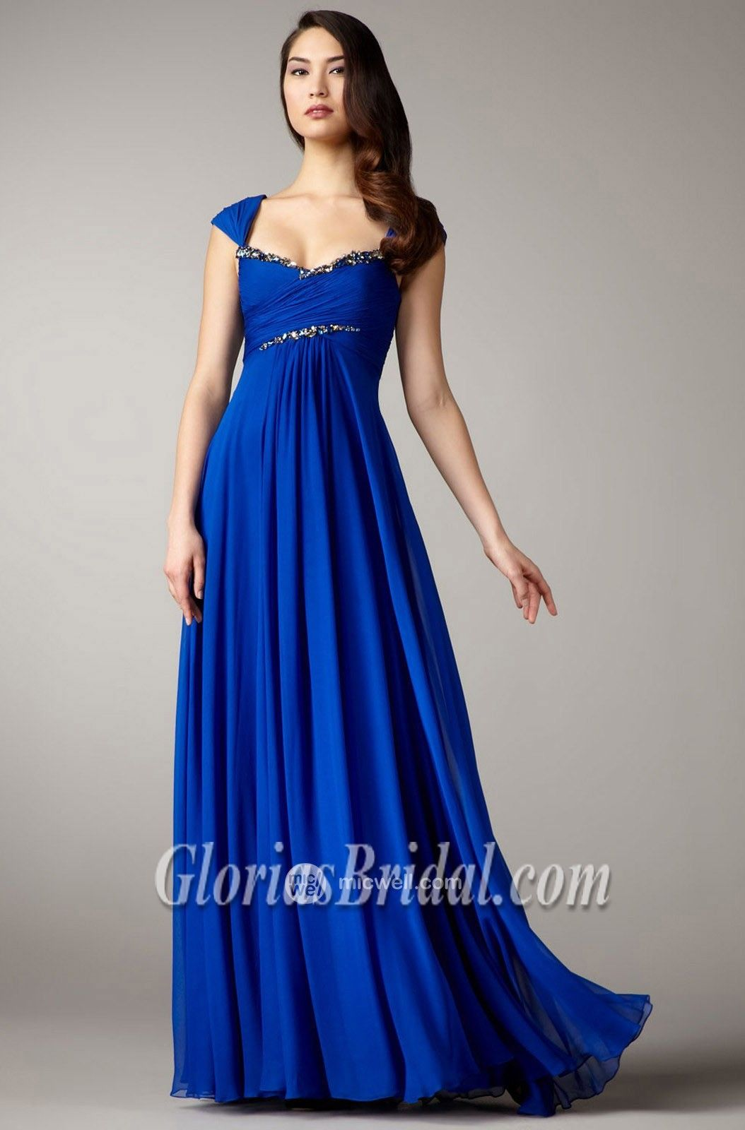 Reception dress big day ideas pinterest prom royal blue and