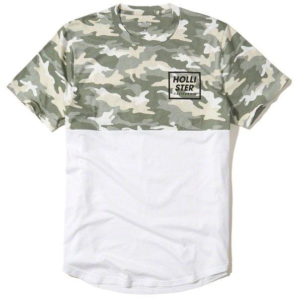 hollister camo shirt