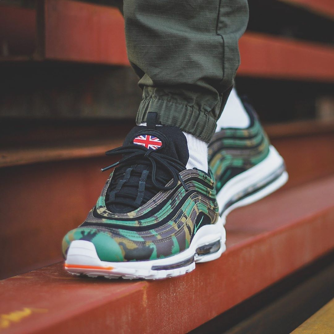 The Nike Air Ma 97 British Camo Only